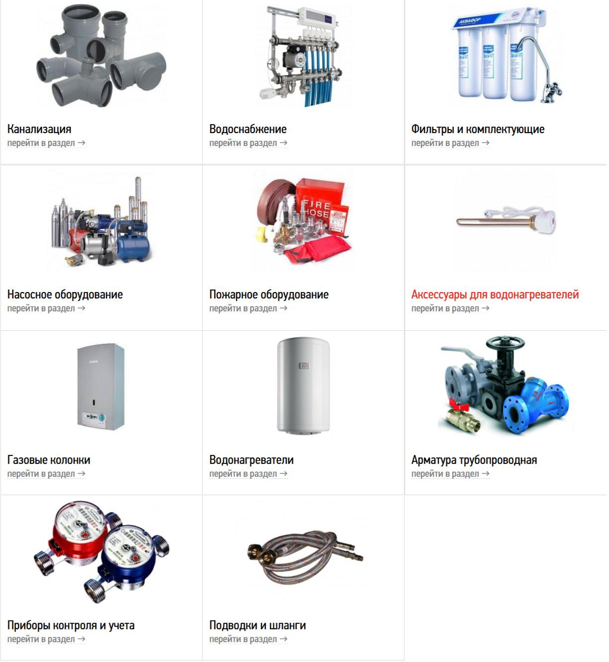 Канализация и водоснабжение